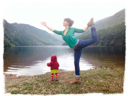 Yoga con bebés